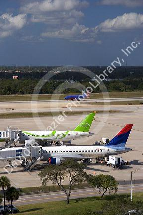 Tampa International Airport, Tampa, Florida.