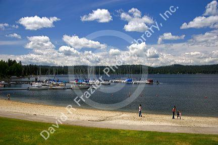 Payette Lake in McCall, Idaho.