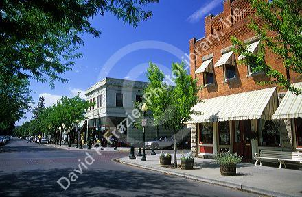 A Row Of Restaurants And Small Businesses On 13th Street In Hyde Park The Northend Boise Idaho