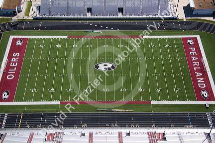 Pearland High School Football Stadium High School Football Field