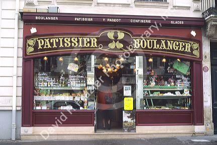 A bakery in France.