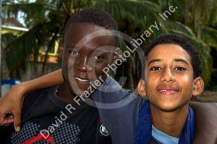caribbean teens Black