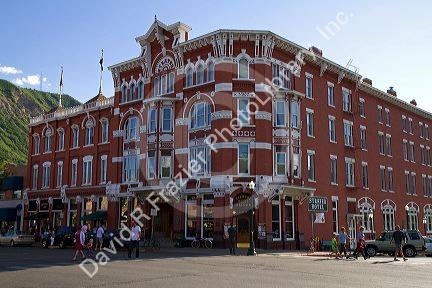strater hotel located in downtown durango colorado usa. Black Bedroom Furniture Sets. Home Design Ideas