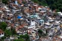 Hillside favela in Rio de Janeiro, Brazil. These slums are home to thousands of people squatting on public lands.