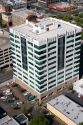 Aerial view of the Banner Bank Building in downtown Boise, Idaho.