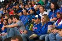 Chicago Cubs fans at Wrigley Field in Chicago, Illinois, USA.