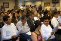 New United States citizens attend a citizenship ceremony in Idaho, USA.