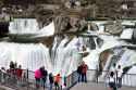 Shoshone Falls is a waterfall located on the Snake River in Twin Falls County, Idaho, USA.